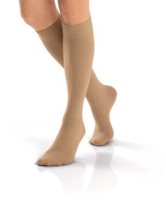 Jobst Opaque 15-20 mmHg Knee High Natural