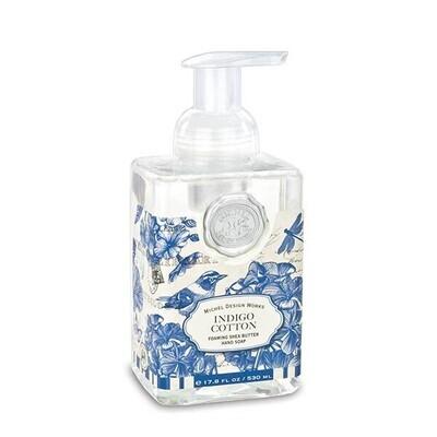 Indigo Cotton Foaming Hand Soap
