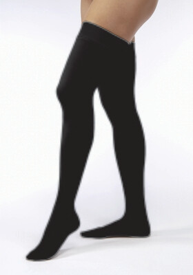 Jobst Opaque 20-30 mmHg Thigh High Classic Black