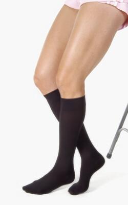Jobst Relief 15-20 mmHg Knee High BLACK