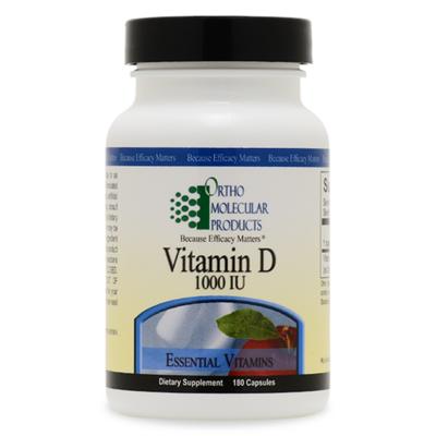 Vitamin D 1,000 IU 180ct
