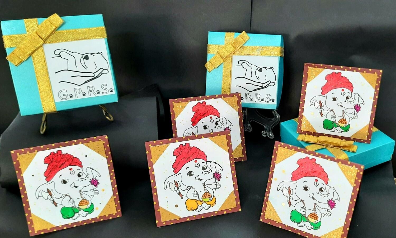 Diwali Card Set