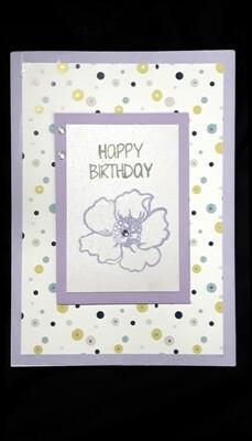 Purple Birthday Wishes