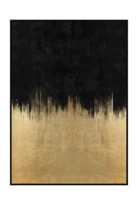 Gold Rush Art in Black