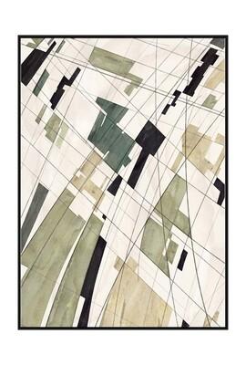 Linear Lines Art in Multi