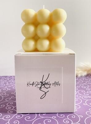 Bubble candle Vanilla Lavender