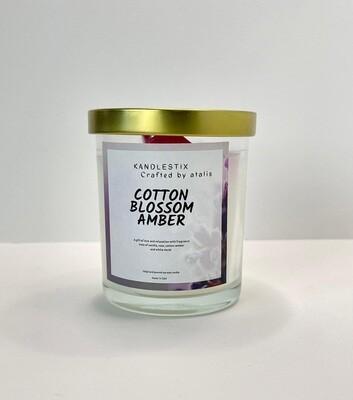 Cotton blossom amber
