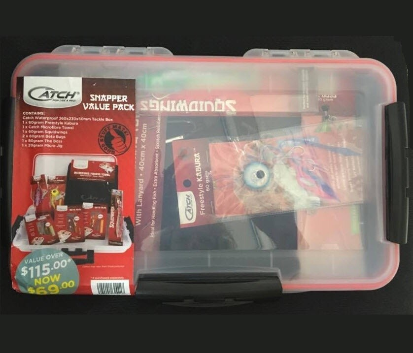 Snapper Value Pack Catch Tackle Box