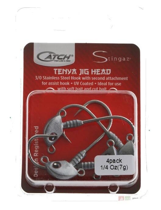 Catch Singaz Tenya Jig Heads 3/0 Pack 1/4oz