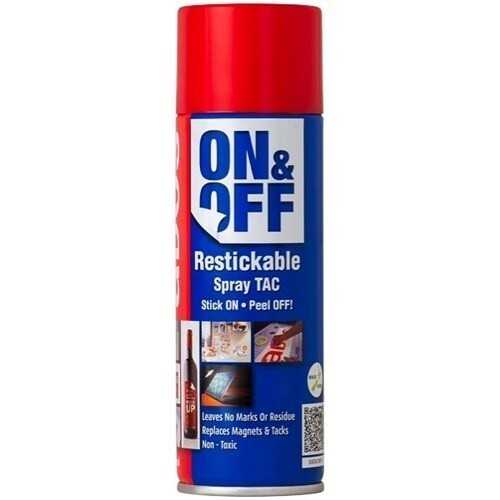 CRC ADOS On and Off Restickable Spray 210ml