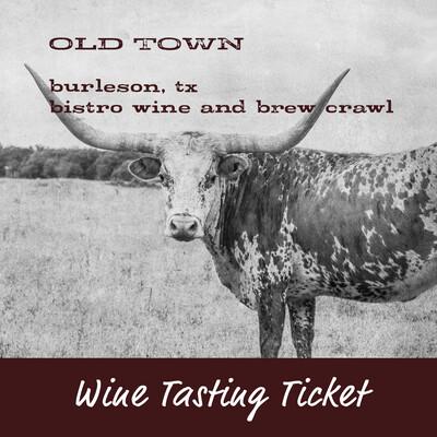 Wine Tasting Ticket