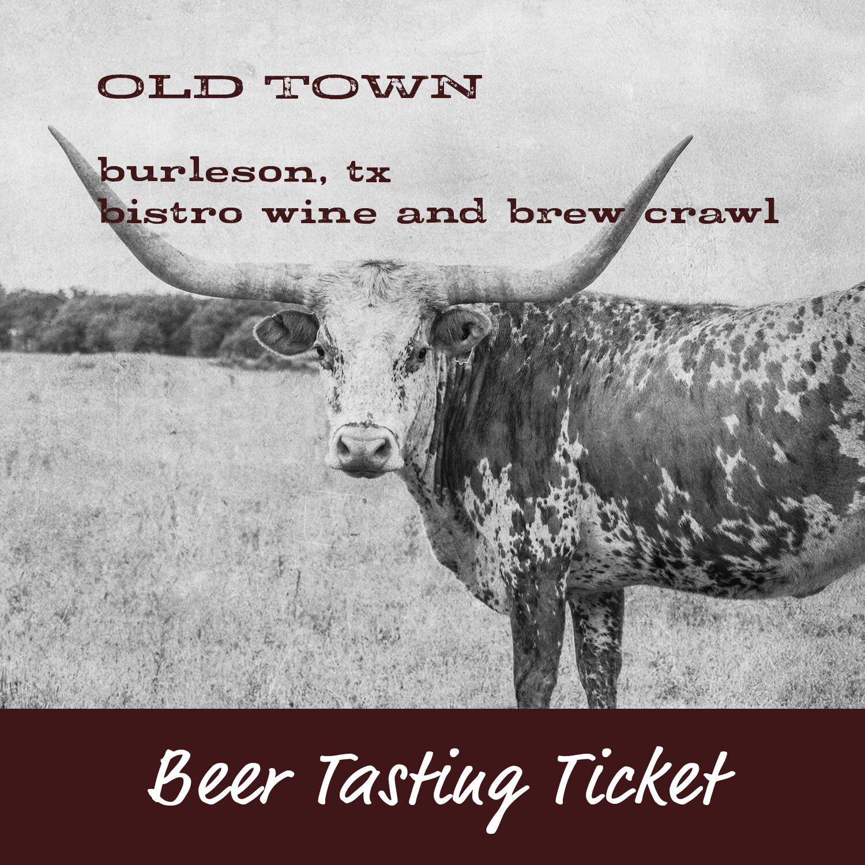 Beer Tasting Ticket