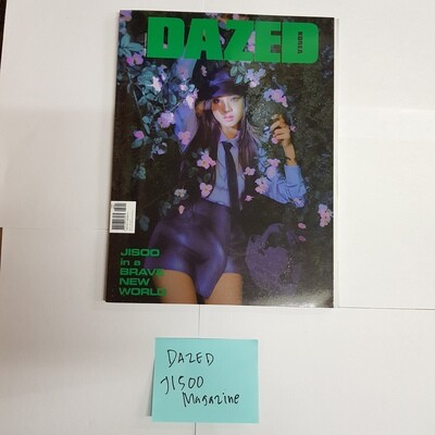 Jisoo DAZED & CONFUSED Magazine
