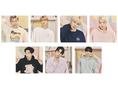 FILA x BTS - Sweatshirt & Hoodie (Dynamite Collection)