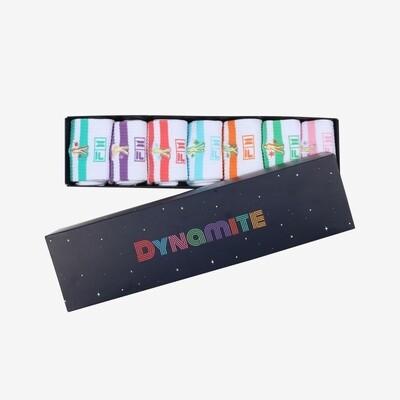 FILA x BTS - Set of 7 Socks (Dynamite Collection)
