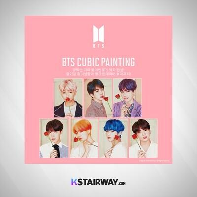 BTS - Cubic Painting Ver. 1
