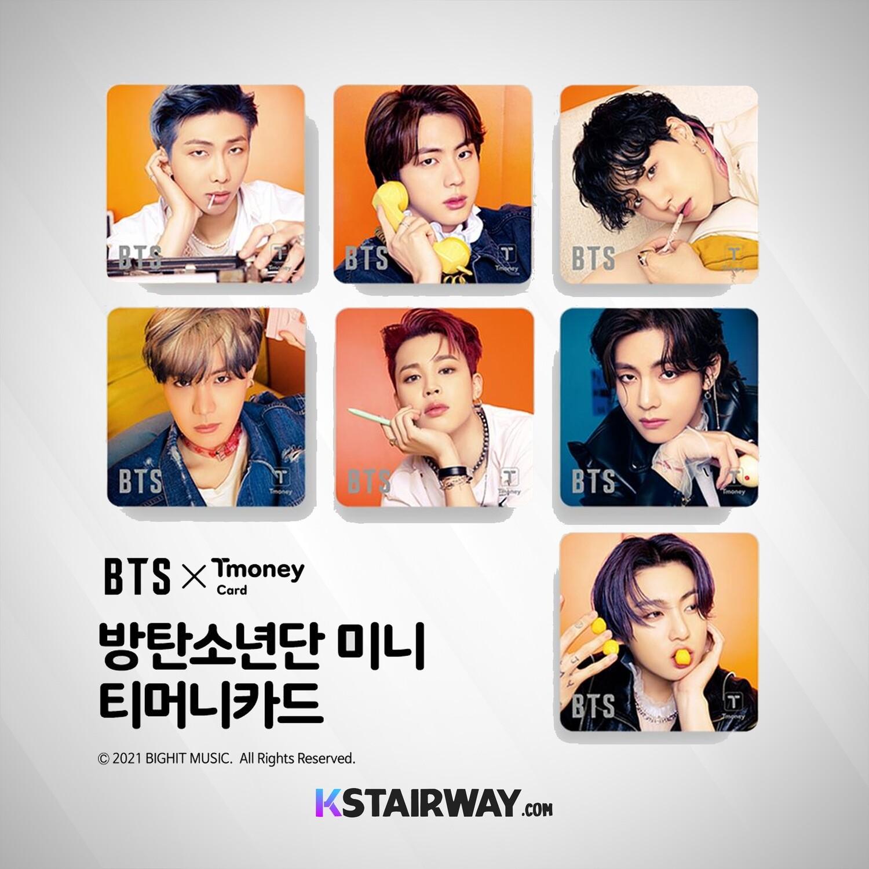 BTS T-Money 2021 (October)