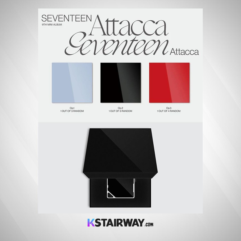 Seventeen: Attacca - 9th Mini Album - SEALED Album (Random Ver.)