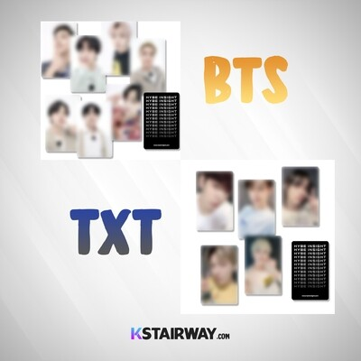 Hybe Insight: BTS & TXT - Special Photocard (SOLD OUT)