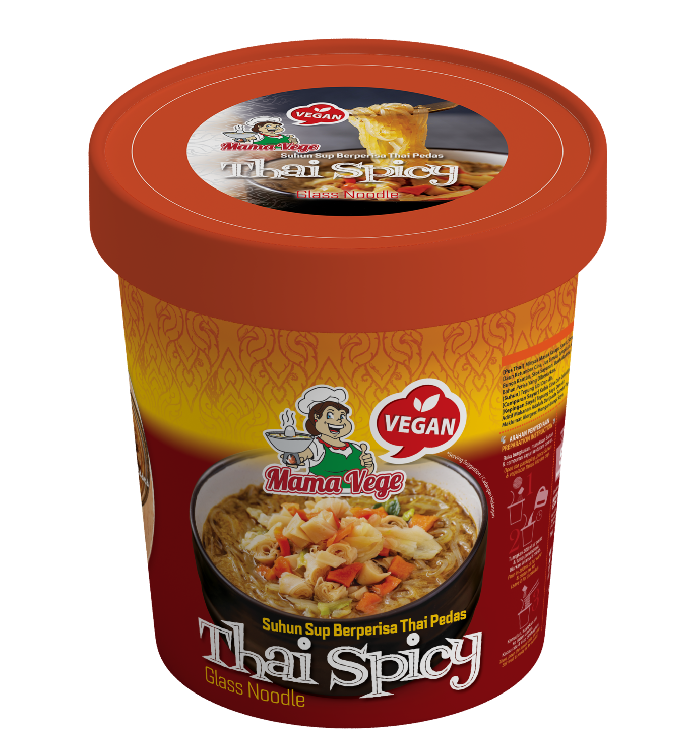 MAMAVEGE Thai Spicy Glass Noodle