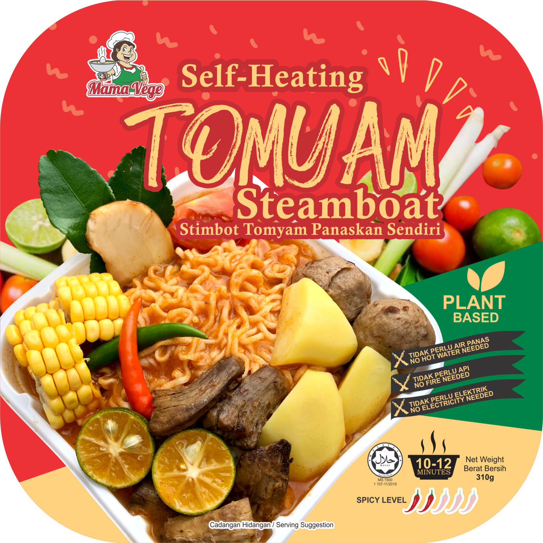 Vegetarian Self-heating TomYam Steamboat