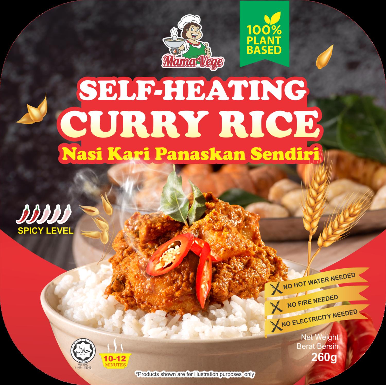 Vegetarian Self Heating Curry Rice