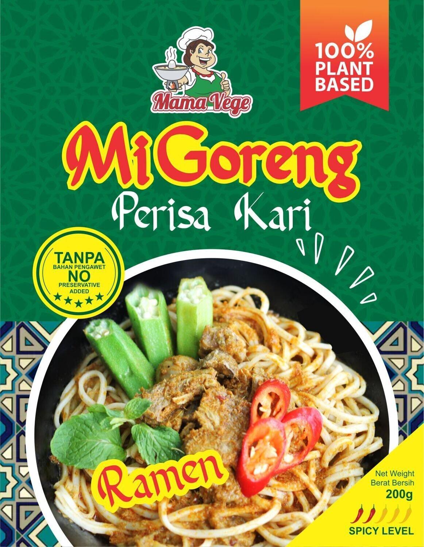 MAMAVEGE Vegetarian Ramen Mi Goreng Kari