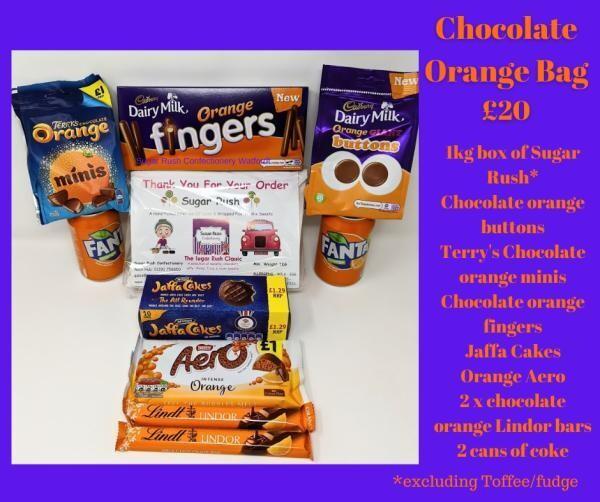 Chocolate Orange Night in Bag