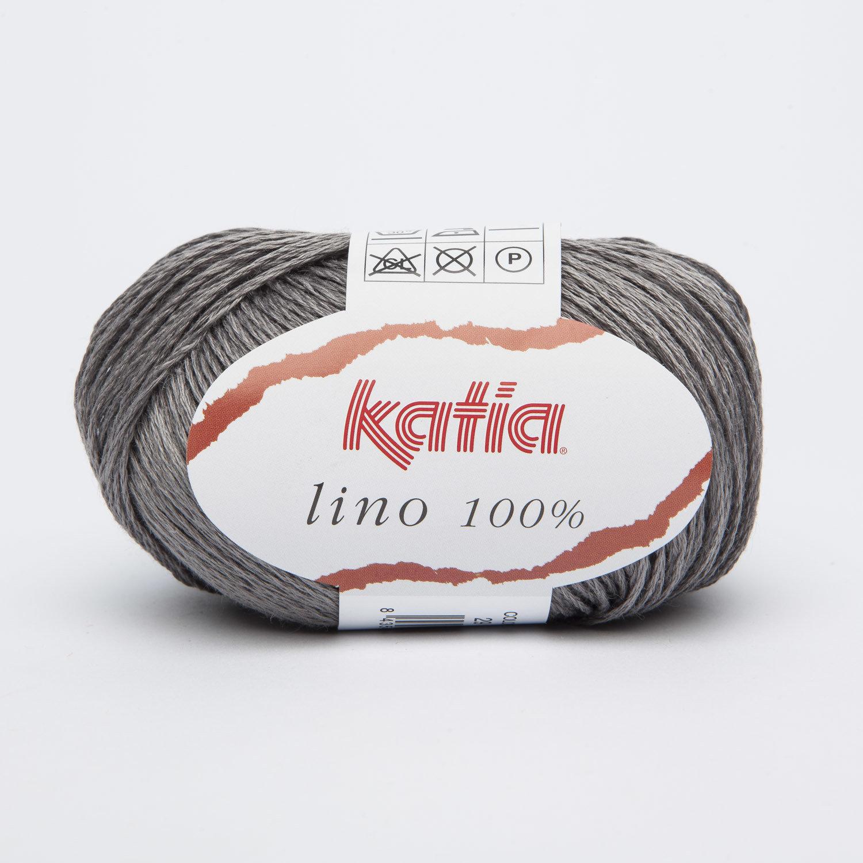 LINO 100% KATIA COL. 29 GRIGIO SCURO