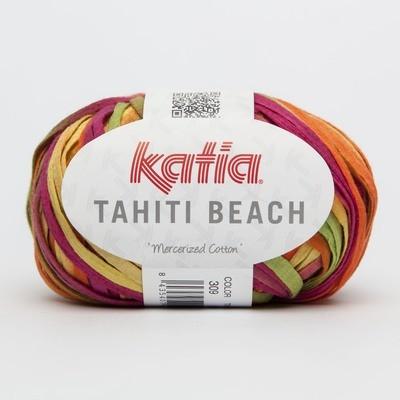 THAITI BEACH 309 giallo arancio verde fucsia