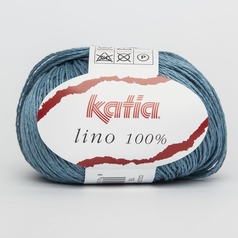 LINO 100% KATIA COL. 19 AZZURRO