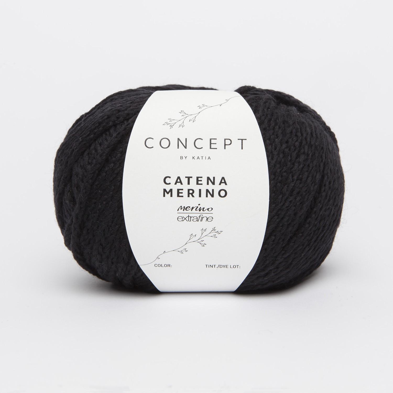 CONCEPT CATENA MERINO 208 NERO