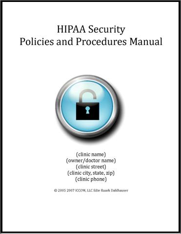 HIPAA Security Compliance Manual 0000003