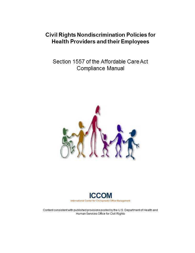Civil Rights Nondiscrimination Policies for  Health Providers and their Employees