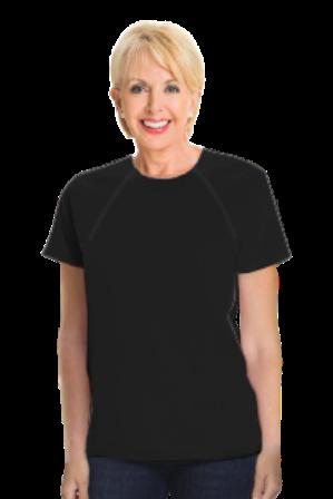 Women's Short Sleeve (Black)