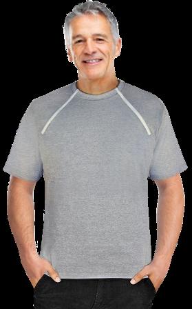Men's Short Sleeve (Gray)