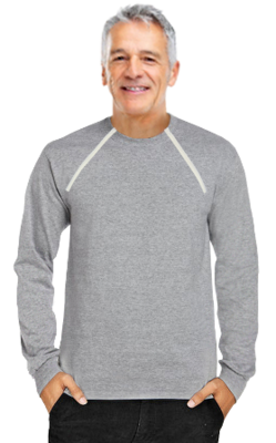 Men's Long Sleeve (Gray)