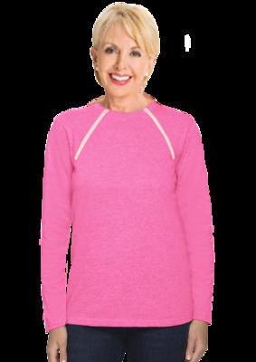 Women's Long Sleeve (Pink)