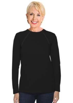 Women's Long Sleeve (Black)