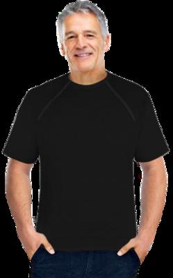 Men's Short Sleeve (Black)