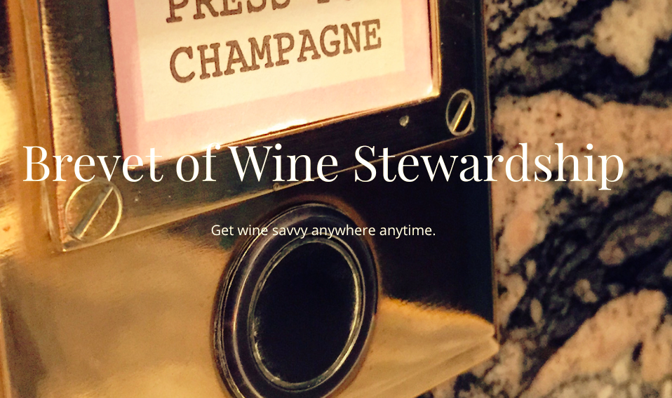 Brevet of Wine Stewardship