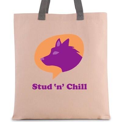 Tote-bag en toile Stud'N'Chill