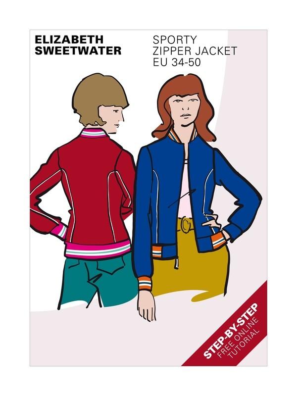 Sporty Zipper Jacket
