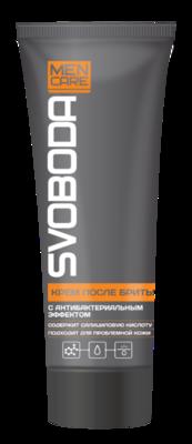 Крем после бритья SVOBODA MEN CARE с антибактериальным эффектом, 72г