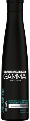 Шампунь-активатор для роста и укрепления волос GAMMA Perfect Hair, 350мл