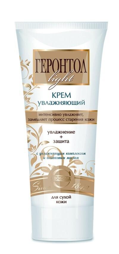 """Крем для лица """"Геронтол Light"""" увлажняющий для сухой кожи, 60мл"""