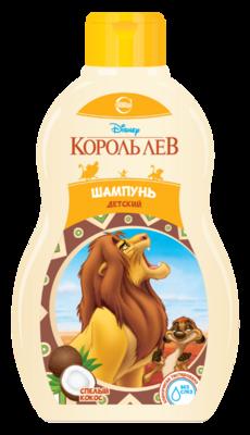 """Шампунь детский """"Король Лев"""" спелый кокос, 410мл"""