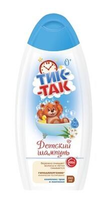 """Детский шампунь """"Тик-Так"""" комплекс трав и пантенол, 350мл"""