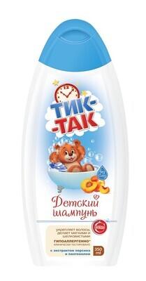 """Детский шампунь """"Тик-Так"""" с экстрактом персика и пантенолом, 350мл"""