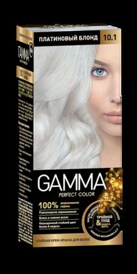 """Краска для волос """"GAMMA Perfect color"""" платиновый блонд, 10.1"""